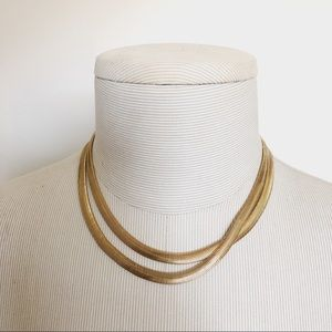 Gold Plated Super Long Chain